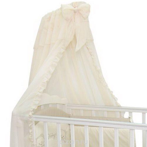 Балдахин в кроватку  Fairy , цвет: белый, 300 см х 170 см -  Бортики, бамперы