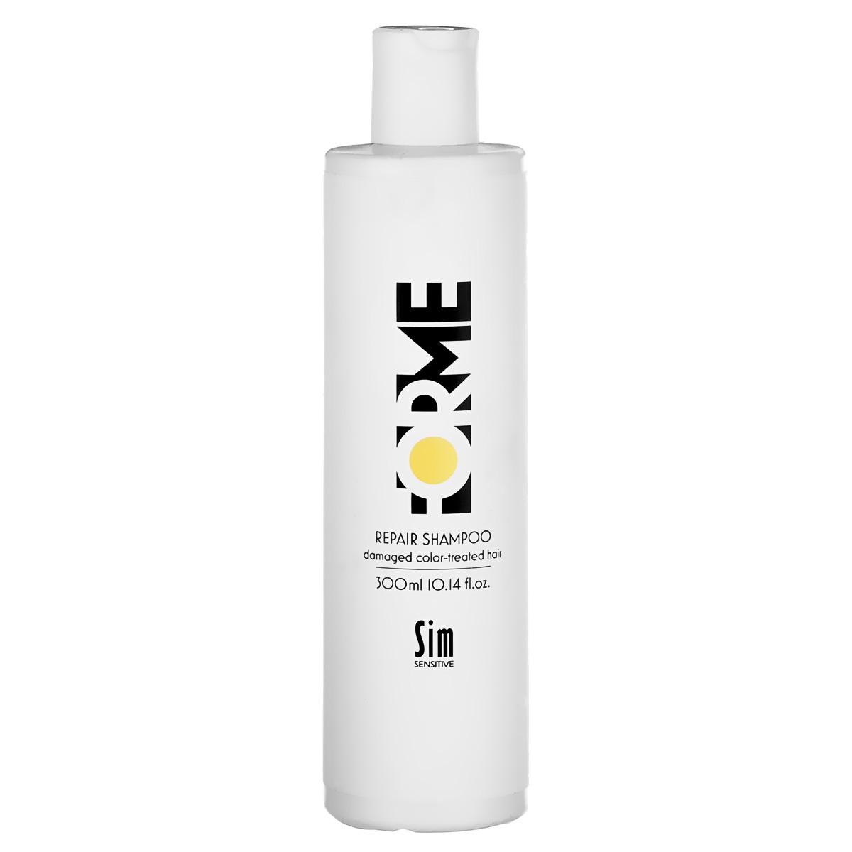 SIM SENSITIVE Шампунь для волос FORME Repair Shampoo 300мл лаки для волос sim sensitive лак для волос mega finish сильной фиксации 300мл