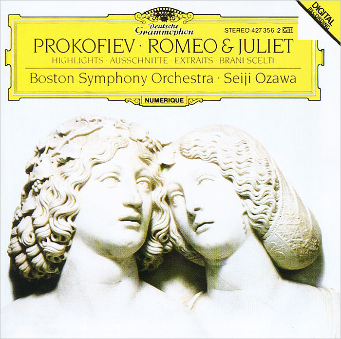 Сейджи Озава,Boston Symphony Orchestra Seiji Ozawa. Prokofiev. Romeo And Juliet сейджи озава михаил плетнев boston symphony orchestra русский национальный оркестр seiji ozawa mikhail pletnev tchaikovsky complete recordings collectors edition 5 cd