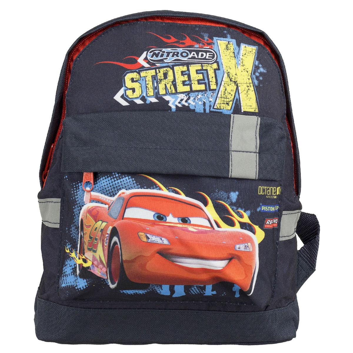 Рюкзак детский Kinderline Cars, цвет: темно-синий. CRCB-UT4-502S сумка kinderline international mhbz us1 51box5 v3