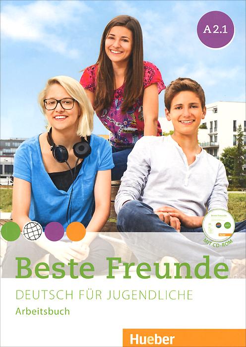 Beste Freunde A2.1: Deutsch fur Jugendliche: Arbeitbuch (+ CD-ROM) menschen a2 testtrainer mit cd