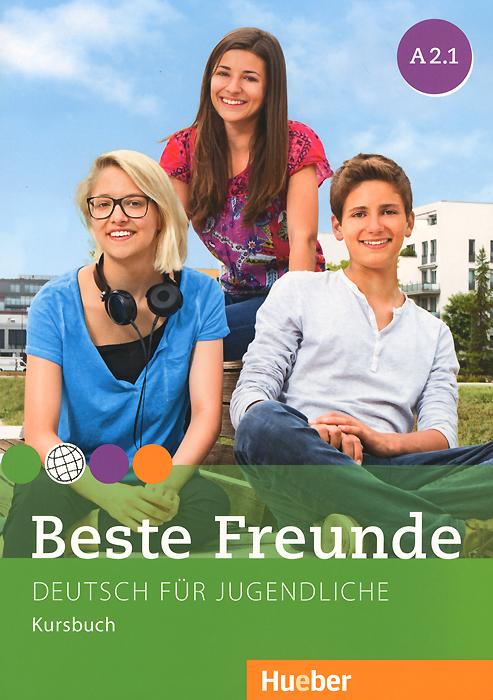 Beste Freunde A 2.1:Deutsch fur Jugendliche: Kursbuch beste freunde b1 2 cd zum kursbuch