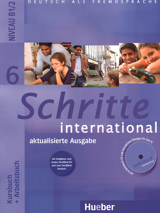 Schritte international 6: Niveau B1/2: Kursbuch + Arbeitsbuch (+ CD) hspl fur hat guarantee 100
