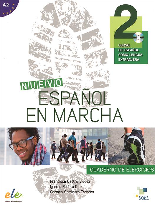Nuevo espanol en marcha 2: Nivel A2: Cuaderno de ejercicios (+ CD) разделочная доска bekker вк 9708