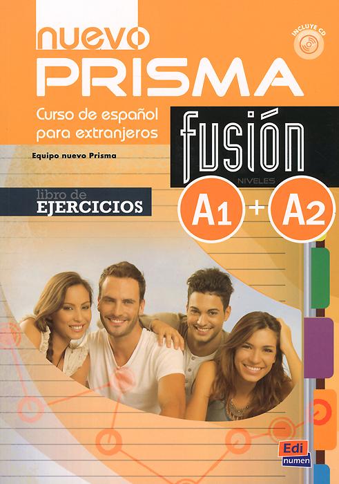 Nuevo prisma fusion: A1 + A2: Libro de ejercicios (+ CD) vocabulario elemental a1 a2 2cd