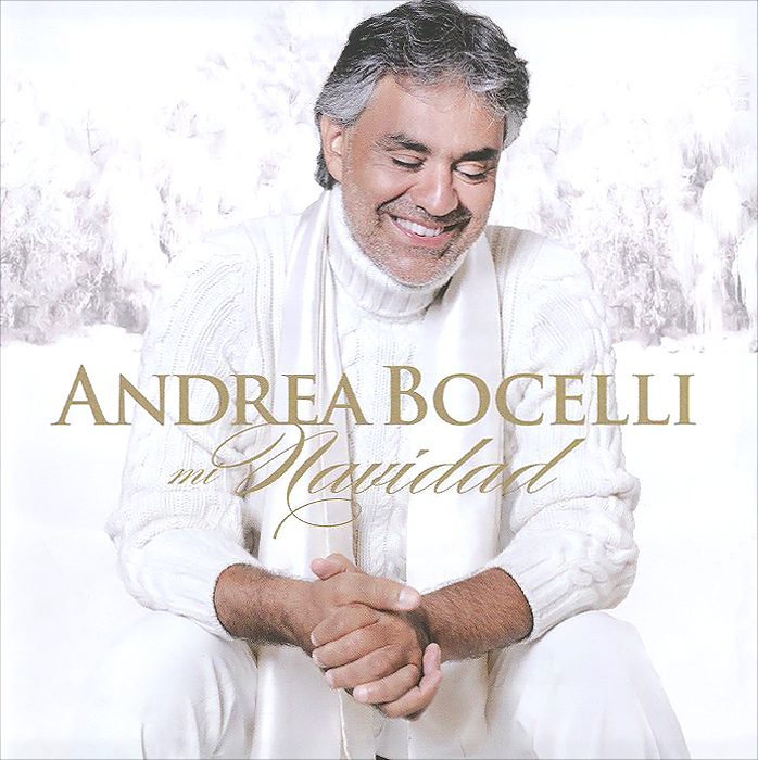 Андреа Бочелли Andrea Bocelli. Mi Navidad cd andrea bocelli mi navidadspanish version my christmas