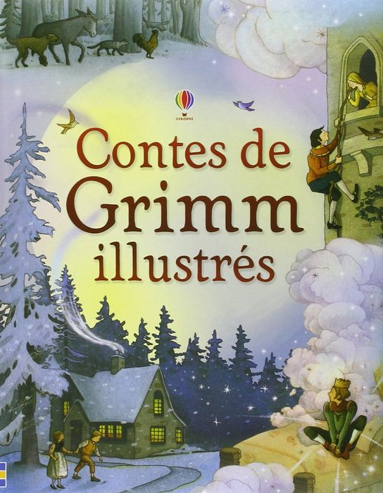 Contes de Grimm illustres hansel