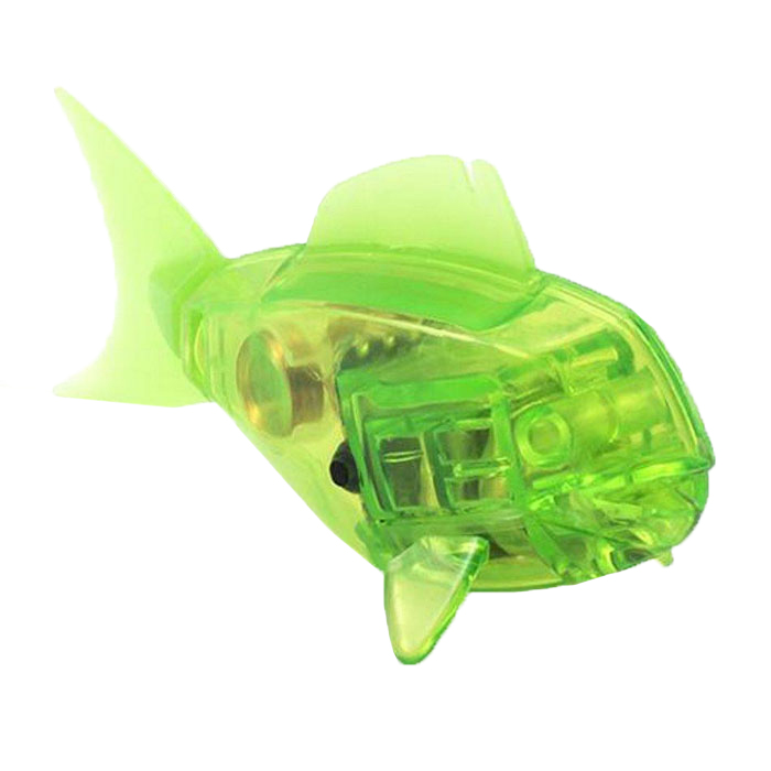 Микро-робот Hexbug Aqua Bot, цвет: салатовый hexbug микро робот aquabot angelfish цвет синий
