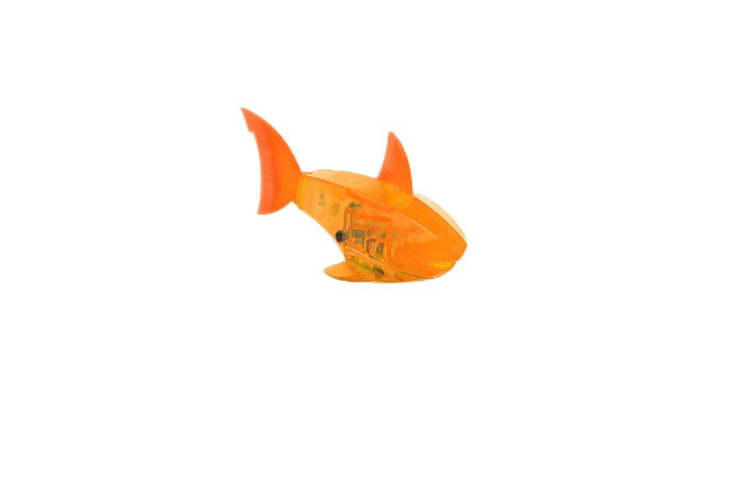 Микро-робот Hexbug Aquabot Shark, цвет: оранжевый