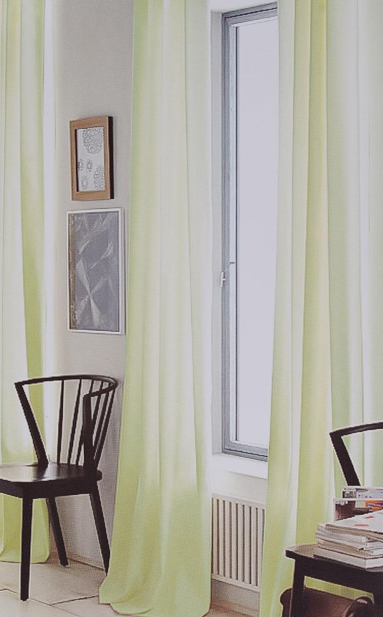 """Изящная тюлевая штора """"Garden"""" выполнена из вуали (100% полиэстера).  Полупрозрачная  ткань, приятный цвет привлекут к себе внимание и  органично впишутся в интерьер помещения. Такая штора идеально подходит для  солнечных комнат. Мягко рассеивая прямые лучи, она хорошо пропускает дневной  свет и защищает от посторонних глаз. Отличное решение для многослойного  оформления окон.   Штора крепится на карниз при помощи ленты, которая поможет красиво и  равномерно задрапировать верх."""