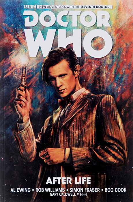 Doctor Who: The Eleventh Doctor: Vol.1: After Life doctor who the glamour chase