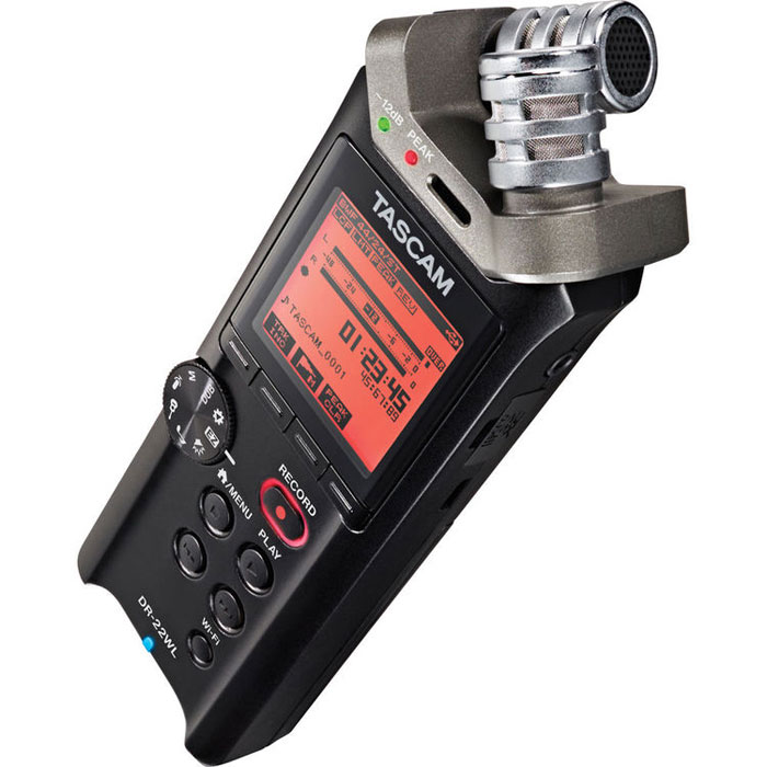 Tascam DR-22WL, Black диктофон