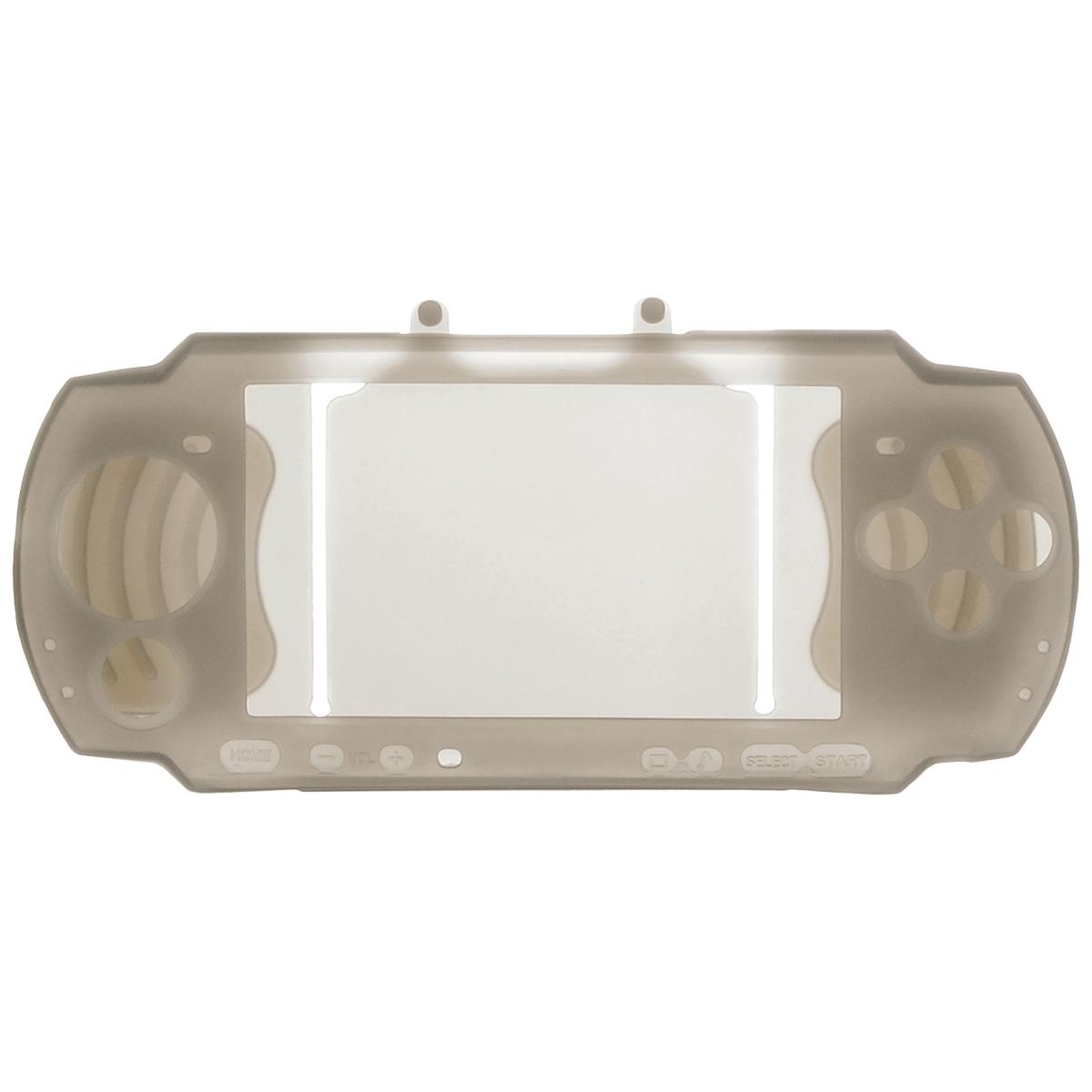 Силиконовый чехол Game Guru Silicon Case для PSP 3000 (серый)PSP3000-Y034Силиконовый чехолGame Guru Silicon Case для PSP 3000 - стильная и надежная защита из высококачественного материала. Чехол надежно защитит вашу приставку от внешних воздействий, грязи, царапин и потертостей. Чехол легко надевается и снимается, совместим со всеми версиями консолиPSP 3000. Легкий доступ ко всем портам и кнопкам позволяет использовать консоль не снимая чехол.