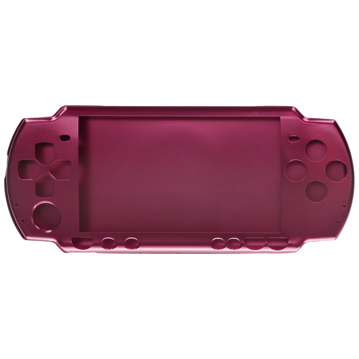 Алюминиевый защитный корпус Game Guru Luxе для Sony PSP 2000/3000 (бордо) for sony sony psp 2000 3000 for psp 2000 3000