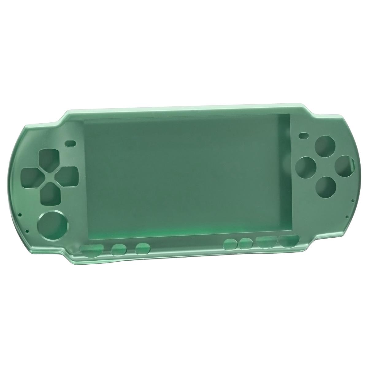 Алюминиевый защитный корпус Game Guru для Sony PSP 2000/3000, цвет: зеленый