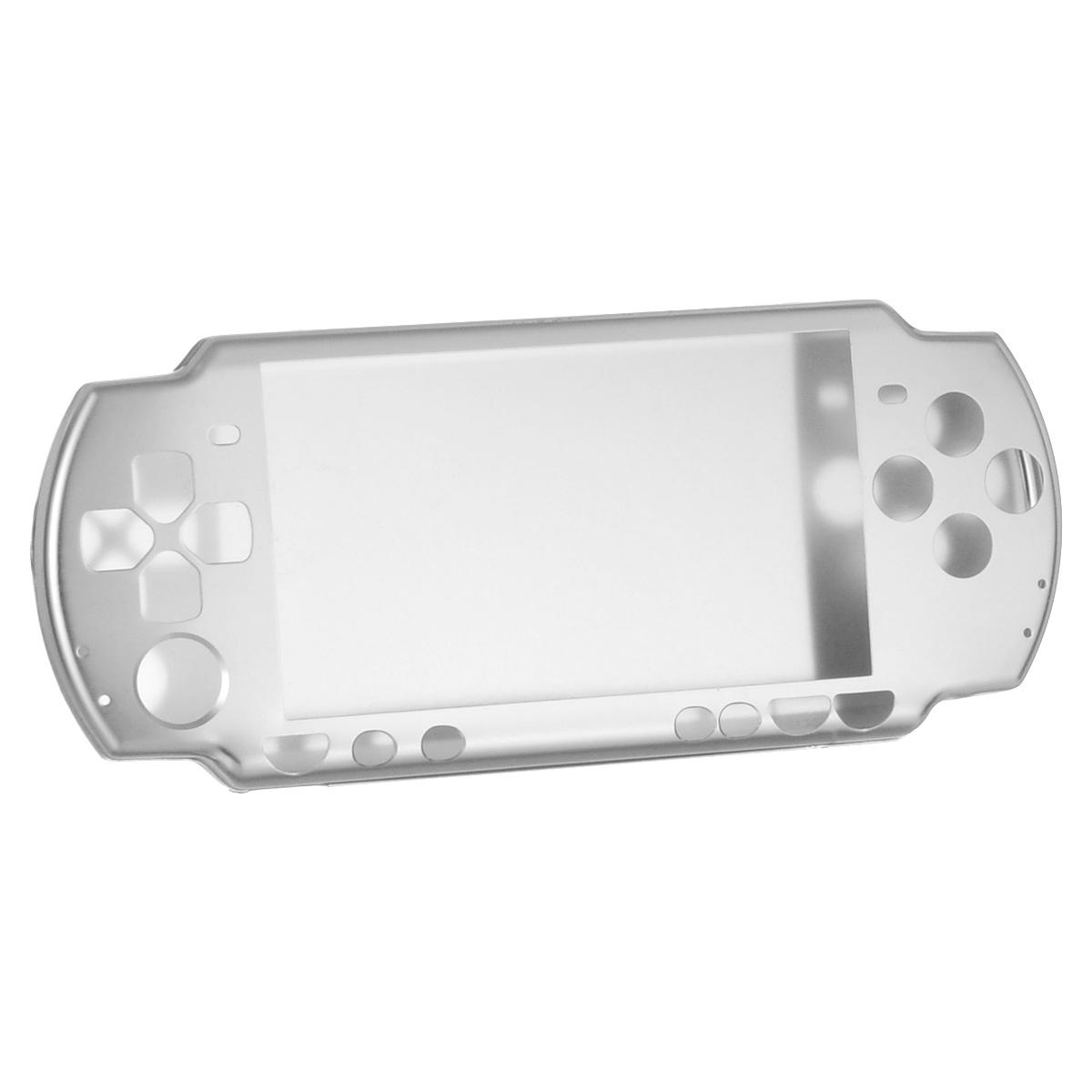 Алюминиевый защитный корпус Game Guru для Sony PSP 2000/3000 (серебряный) универсальный стенд black horns для sony psp 2000 3000 bh psp02801