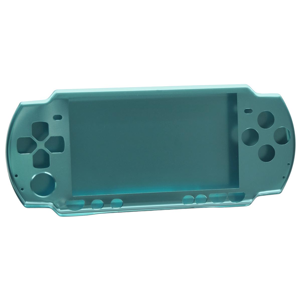 Алюминиевый защитный корпус Game Guru для Sony PSP 2000/3000 (голубой)