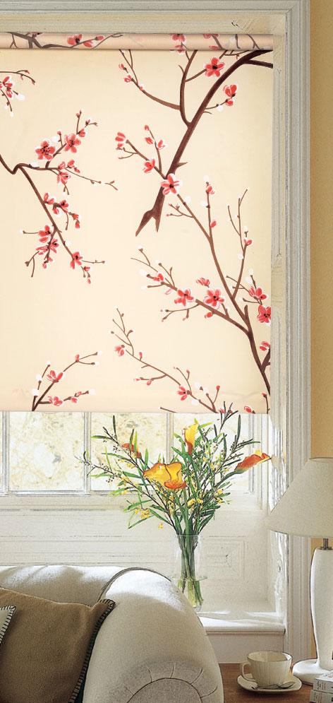Ролло Garden Тамара, 120 х 170 см, с креплением на стену-потолок, цвет: кремовый6283120/11 W1223Ролло Garden Тамара изготовлены из высокопрочной плотной ткани и украшены изображением веточек с цветками. Ткань не выцветает, обладает отличной цветоустойчивостью и сохраняет свой размер даже при намокании. Крепление универсальное, шторы крепятся либо скобами на раму, либо на крепление с двусторонним скотчем. Рулонные шторы (ролло) - это полотно ткани, которое наматывается на вал. С помощью удобного механизма управления рулонные шторы могут опускаться до необходимого уровня и фиксироваться в этом положении. Ролло Garden Тамара - это отличное решение для тех, кто не хочет утяжелять помещение тканевыми шторами. Они не только открывают пространство, но и легко регулируют подачу света в помещение. Происходит это с помощью шнура-цепочки. В комплект входит: - крепления,- саморезы,- дюбеля,- шнур-цепочка,- ролло.Ширина рулонных штор, включая крепление: 120 см.Ширина самого полотна: 116 см.