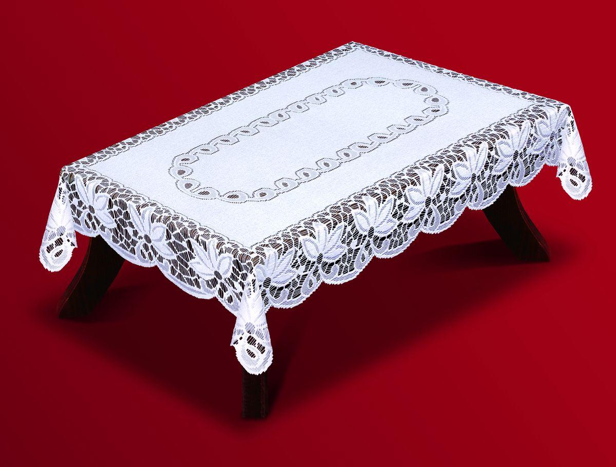 Скатерть Haft, прямоугольная, цвет: белый, 100 x 150 см. 200810/100
