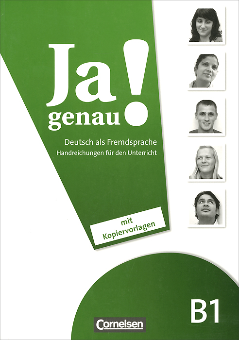 JA Genau!: Deutsch als Fremdsprache B1: Handreichungen Fur Den Unterricht