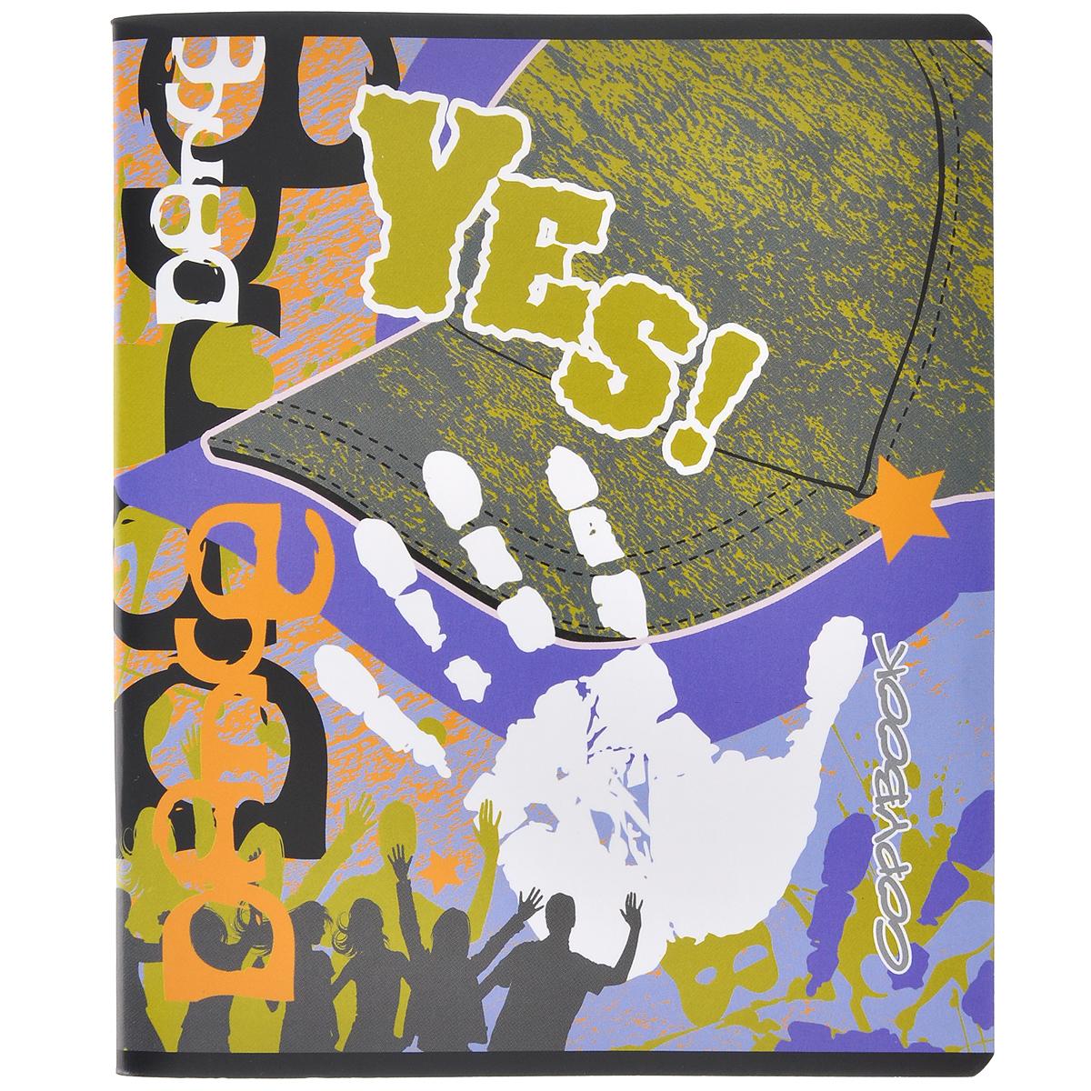 Тетрадь Yes. Бейсболки, 48 листов, формат А5, рисунок 337566_3Тетрадь в клетку Yes. Бейсболки с красочным изображением на обложке подойдет как студенту, так и школьнику. Обложка тетради с закругленными углами выполнена из плотной бумаги.Внутренний блок состоит из 48 листов белой бумаги. Стандартная линовка в клетку дополнена полями, совпадающими с лицевой и оборотной стороны листа.