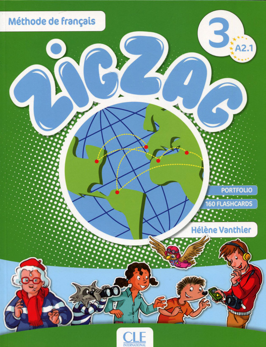 Zigzag 3: Level A 2.1 (+ CD) connexions cahier d exercices niveau 2 cd