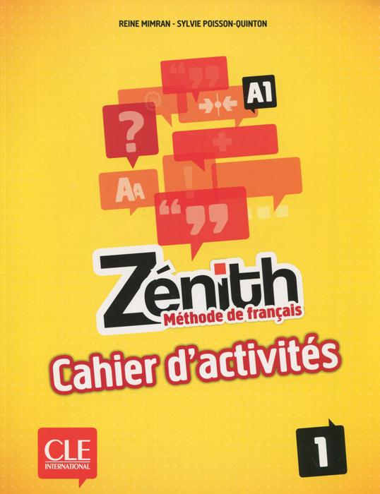 Zenith: Methode de francais 1: A1 le delf 100% reussite a1 cd