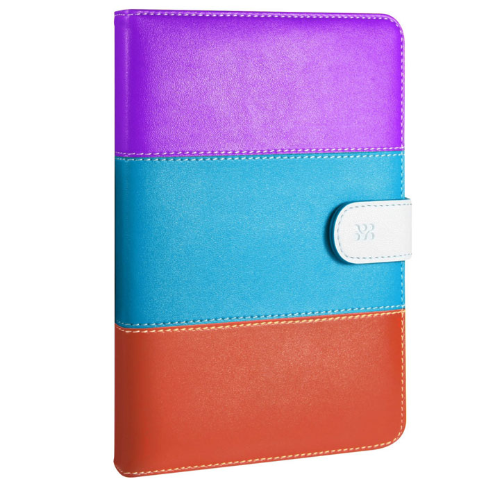 Promate Mirabel.PBO чехол для iPad mini, Purple Blue Orange