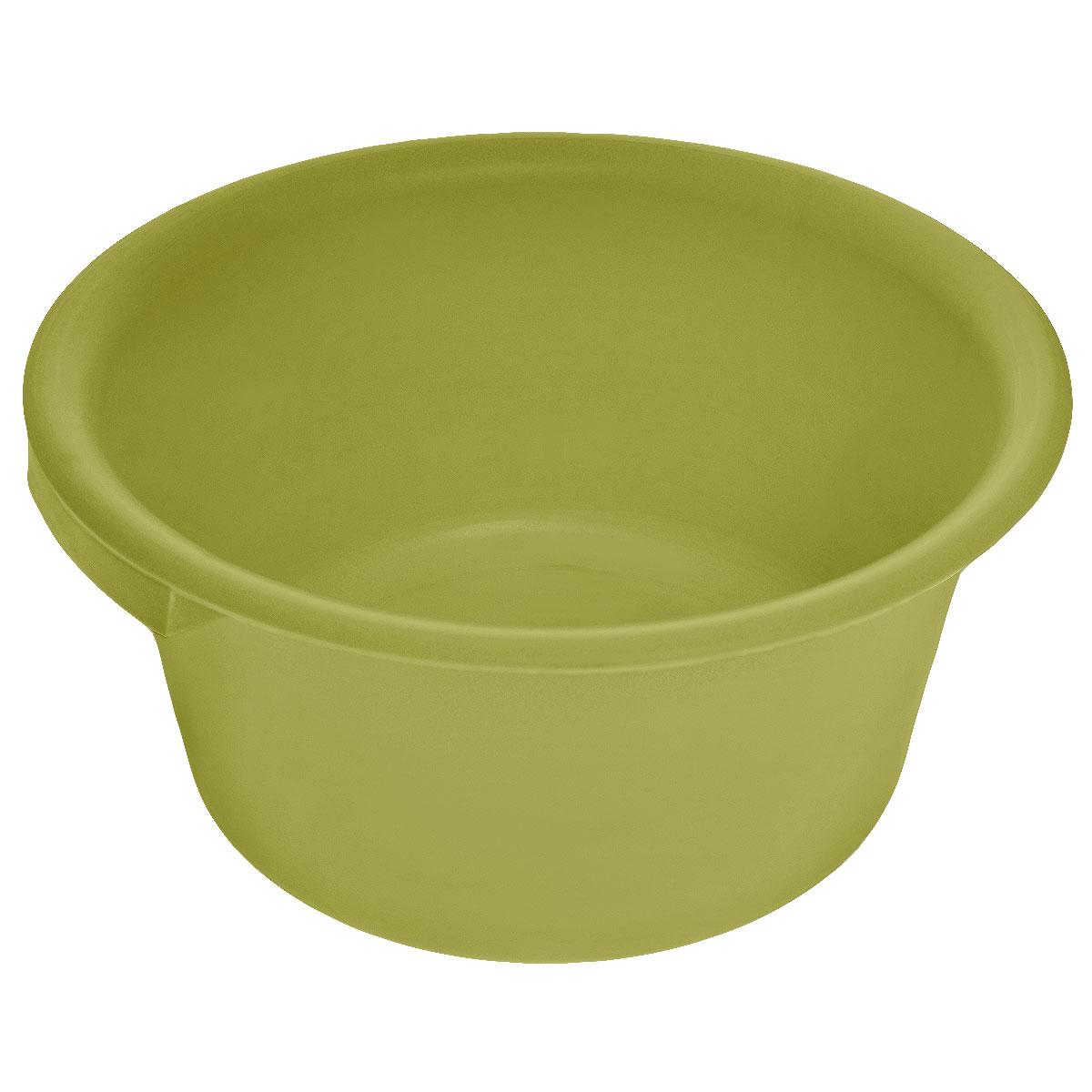 Таз хозяйственный Альтернатива, цвет: оливковый, 9 лМ1106оливковыйТаз Альтернатива изготовлен из высококачественного пластика. Он выполнен в классическом круглом варианте. Для удобного использования изделие снабжено двумя ручками. Таз предназначен для стирки и хранения разных вещей. Он пригодится в любом хозяйстве.Объем: 9 л. Диаметр (по верхнему краю): 35 см.Высота: 15,5 см.