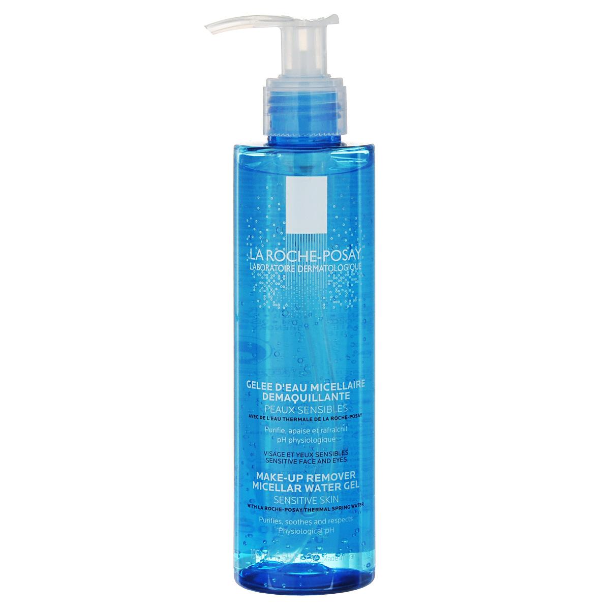 La Roche-Posay Гель мицеллярный очищающий для чувствительной кожи лица Physiological Cleansers 195 мл гель la roche posay effaclar duo[ ] unifiant