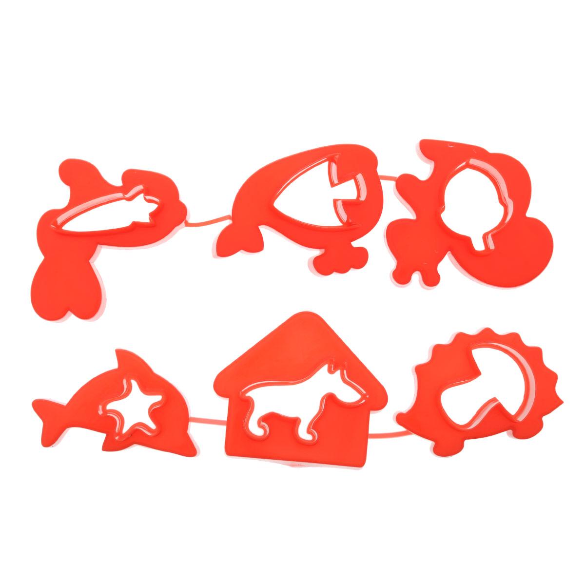 Формочки для лепки и моделирования №1 Луч. 22С 1419-08 красный22С 1419-08 красныйФормочки предназначены для моделирования и лепки из пластилина, мягкого воска, глины, теста. При производстве формочек использованы полимеры, для которых разрешен контакт с пищевыми продуктами, поэтому их можно использовать так же в кулинарии (выпечка, приготовление канапе, детских бутербродов и т.д.).В наборе: фигурки животных (белочка с орешком, собака с будкой, кит и рыбка, дельфин и морская звезда, ёжик с грибом, заяц с морковкой).