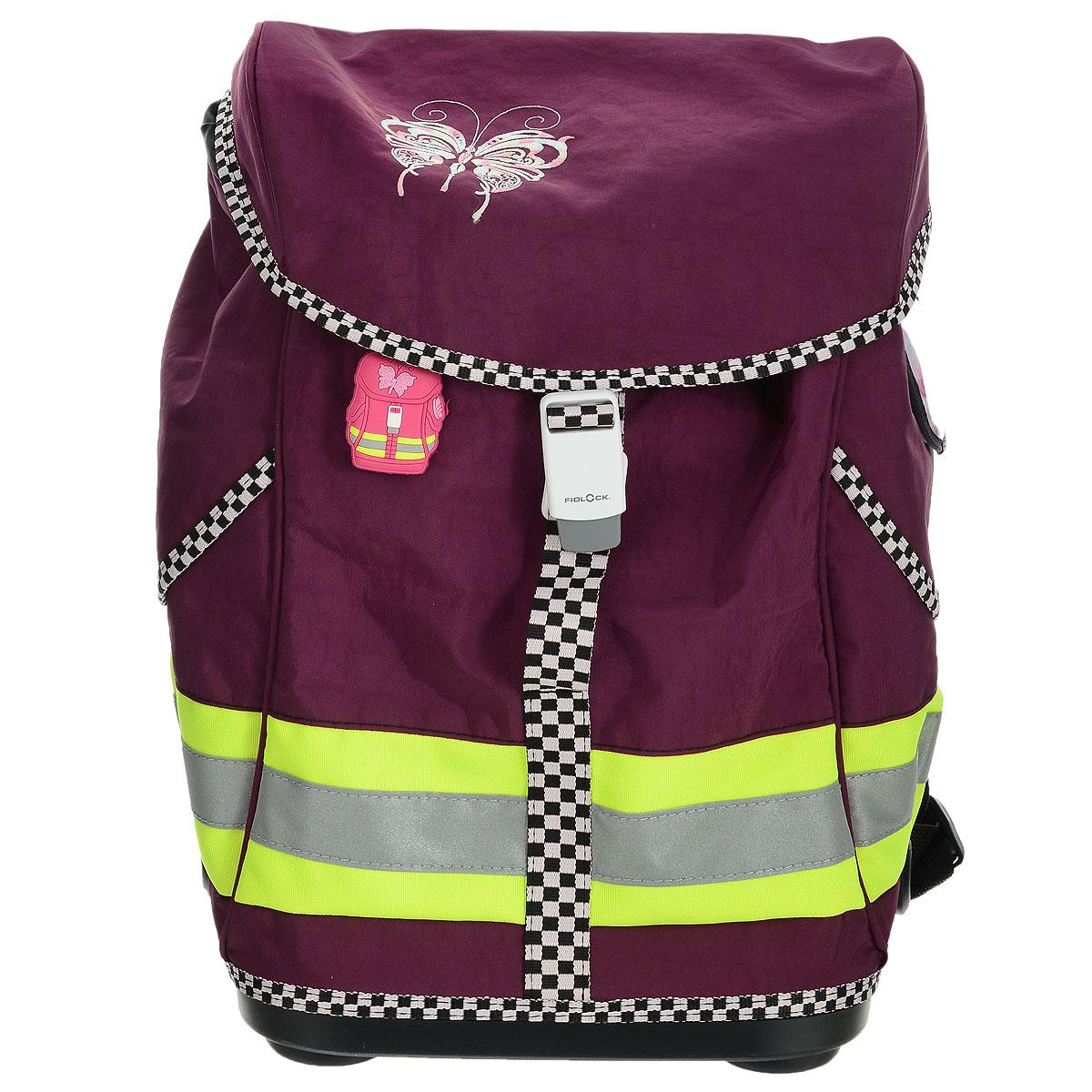 """Ранец школьный Tiger Family """"Voguish Collection"""", цвет: фиолетовый, Tiger Enterprise"""
