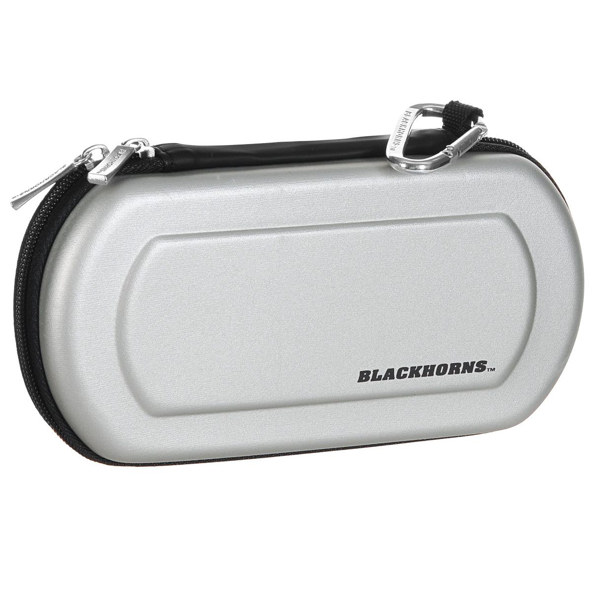 Защитный чехол Black Horns для Sony PSP E1000/2000/3000 (New Version), серый