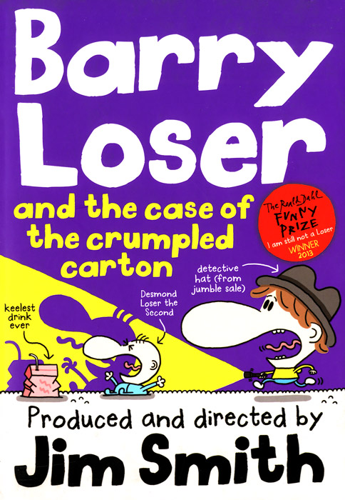 Barry Loser and the Case of the Crumpled Carton just me and my dad little critter