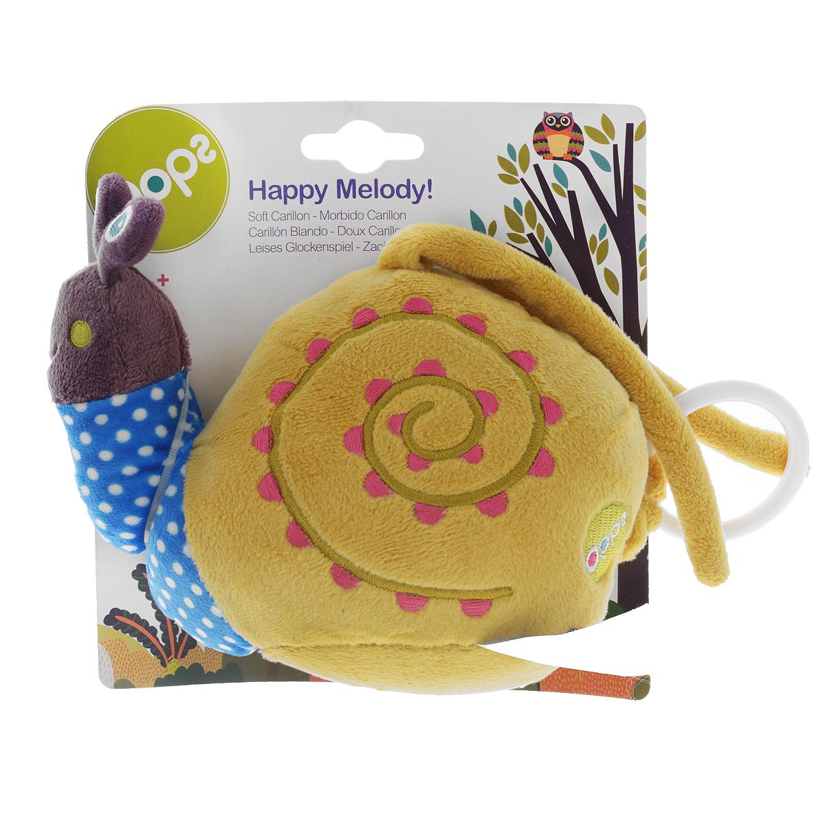 Музыкальная игрушка-подвеска OOPS Улитка подвесные игрушки oops музыкальная кошка