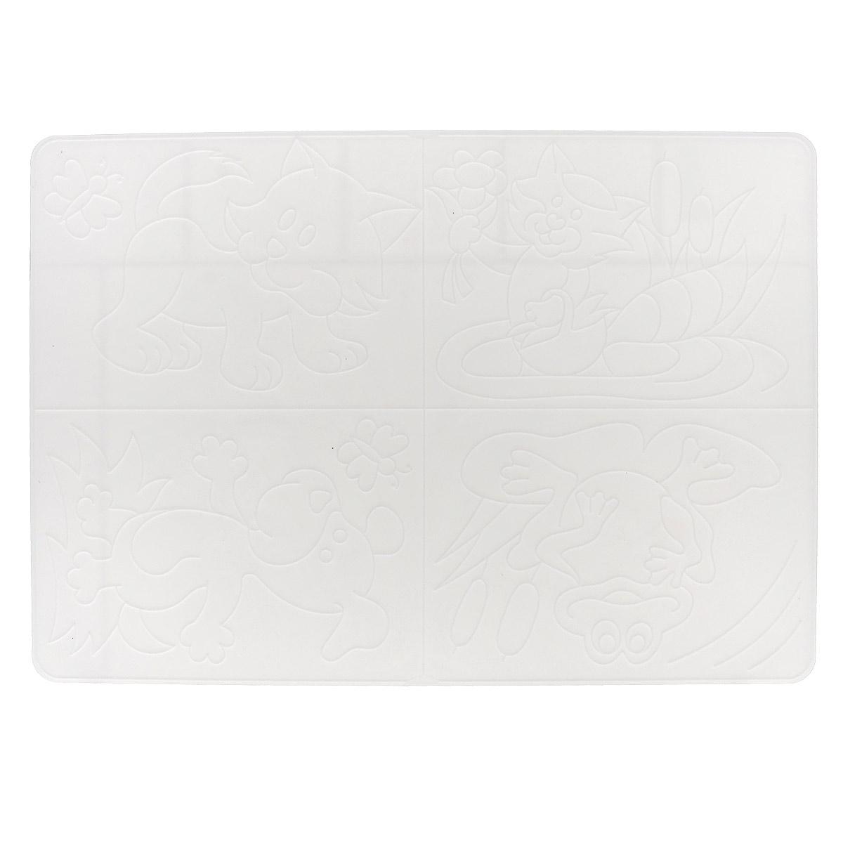 Доска для лепки Луч, пластиковая, №3. 17С 1172-0817С 1172-08Доска для лепки Луч - многофункциональный атрибут творческой деятельности. Благодаря универсальности материала, доску можно использовать как для защиты стола во время творчества ребенка, например, во время лепки, так и элемент для создания аппликации. Для этого рельефные рисунки переводятся на бумагу, а затем, с помощью пластилина, создается картинка. Доска изготовлена из мягкого пластика и легко отмывается от загрязнений.Доска для лепки Луч поможет ребенку развить творческие способности, воображение и мелкую моторику рук.Формат А4.