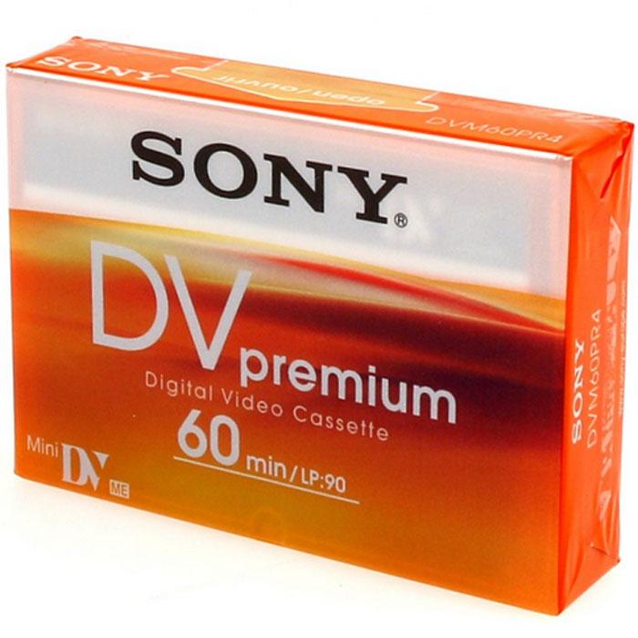Sony DVM 60 PR Premium видеокассета MiniDVDVM60PRЦифровая кассета для камер SONY DVM 60 PR Premium - это безупречное цифровое изображение с разрешением более 500 строк и неограниченные возможности редактирования и совместного просмотра видеофайлов. В долгоиграющем режиме на кассету SONY DVM 60 PR Premium вы можете записать на 50% больше видео. Чистящая кассета: DVM12CLD.