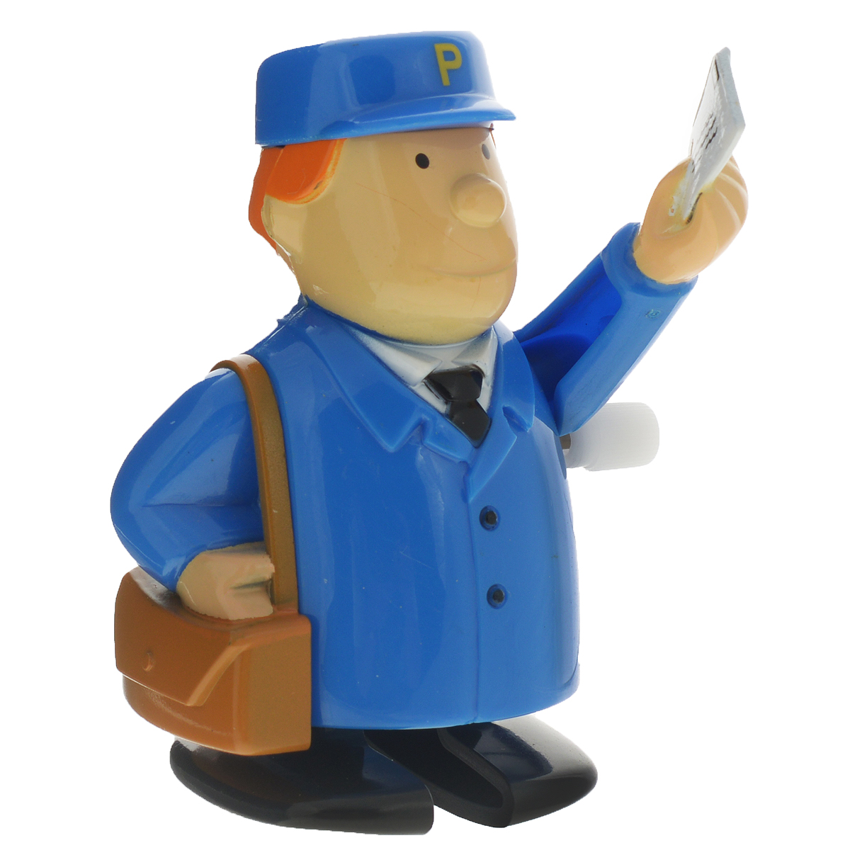 Игрушка заводная Hans Почтальон, цвет: синий часовой ключ