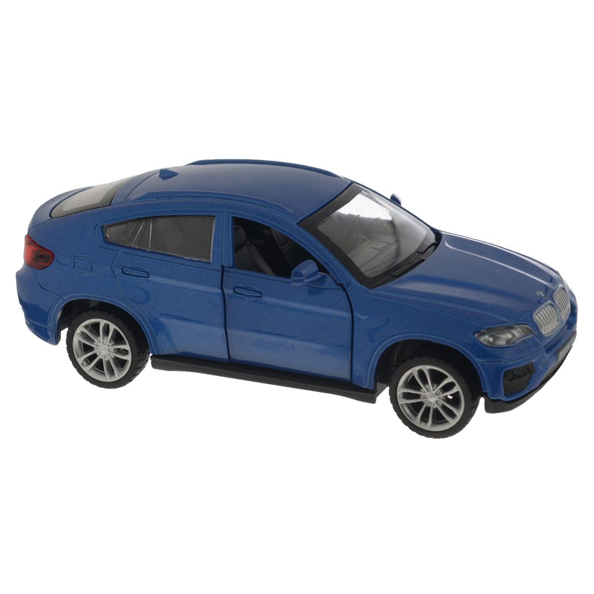 MSZ Модель автомобиля BMW X6 цвет синий umarex магазин для combat zone model 4 cqb cal 6 mm bb