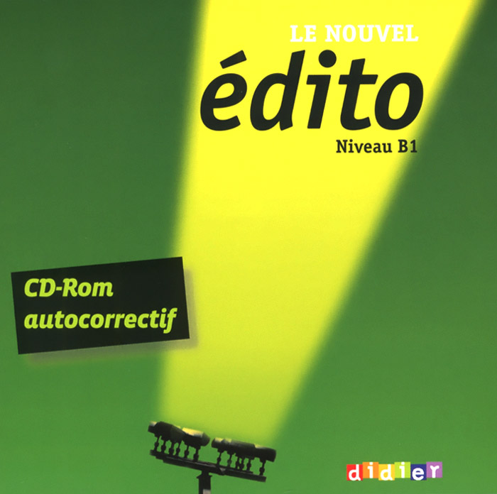 Le nouvel edito: Nuveau B1 (аудиокурс на CD-ROM) le nouvel edito cd rom autocorrectif b1 cahier d exercices