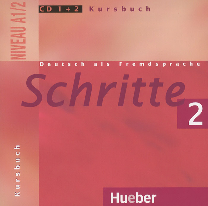 Schritte 2: Niveau A1/2: Kursbuch (аудиокурс на CD 1+2) schritte international neu 1 2 medienpaket