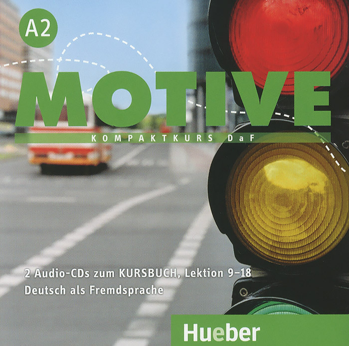 Motive A2: Kursbuch: Lektion 9-18 (аудиокурс на 2 CD) magnet neu a2 kursbuch audio cd