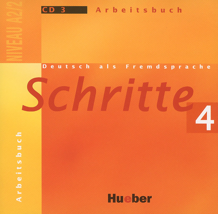 Schritte 4: Niveau A2/2: Arbeitsbuch: СD 3 (аудиокурс на CD) get ready for international business a2 level 1 аудиокурс на 2 cd