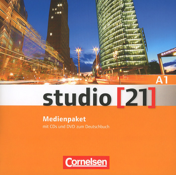 Studio [21] A1: Medienpaket (аудиокурс на 4 CD) starten wir a1 medienpaket