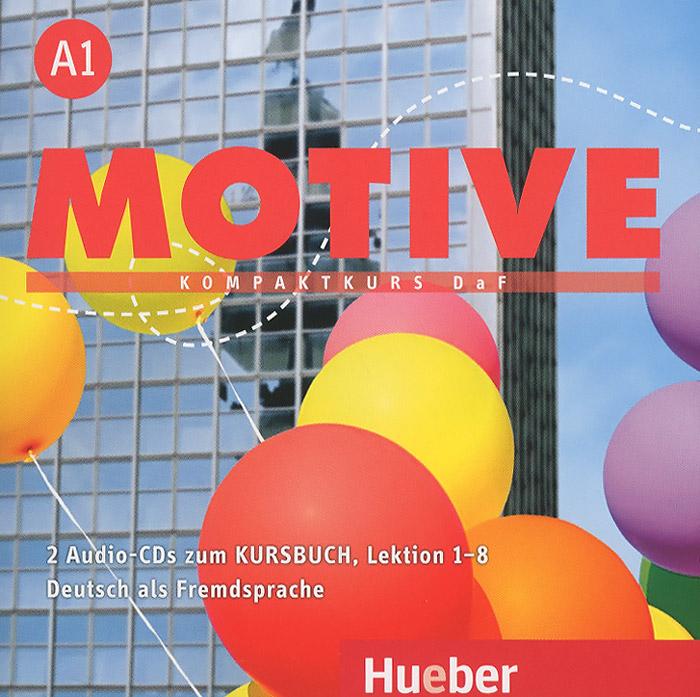 Motive A1: Kompaktkurs DaF: Lektion 1-8 (аудиокурс на 2 CD) movers 8 аудиокурс cd