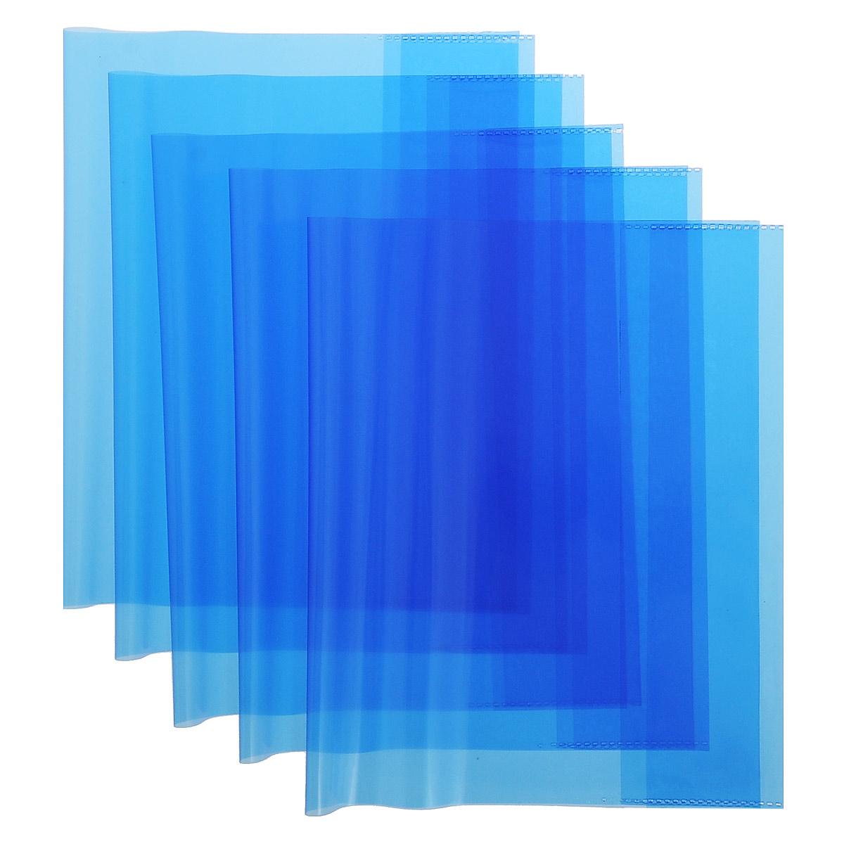 Набор обложек для тетрадей и дневников Action, цвет: синий, 21 см х 34,6 см, 5 штABC010/5_синийНабор обложек для тетрадей и дневников Action предназначены для защиты тетрадей, дневников от пыли, грязи и механических повреждений. С прозрачными клапанами. Рекомендовано для детей старше трех лет.