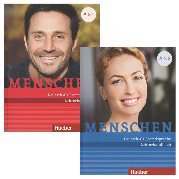 Menschen: Deutsch als Fremdsprache: Lehrerhandbuch (комплект из 2 книг) menschen b1 deutsch als zweitsprache vokabeltaschenbuch