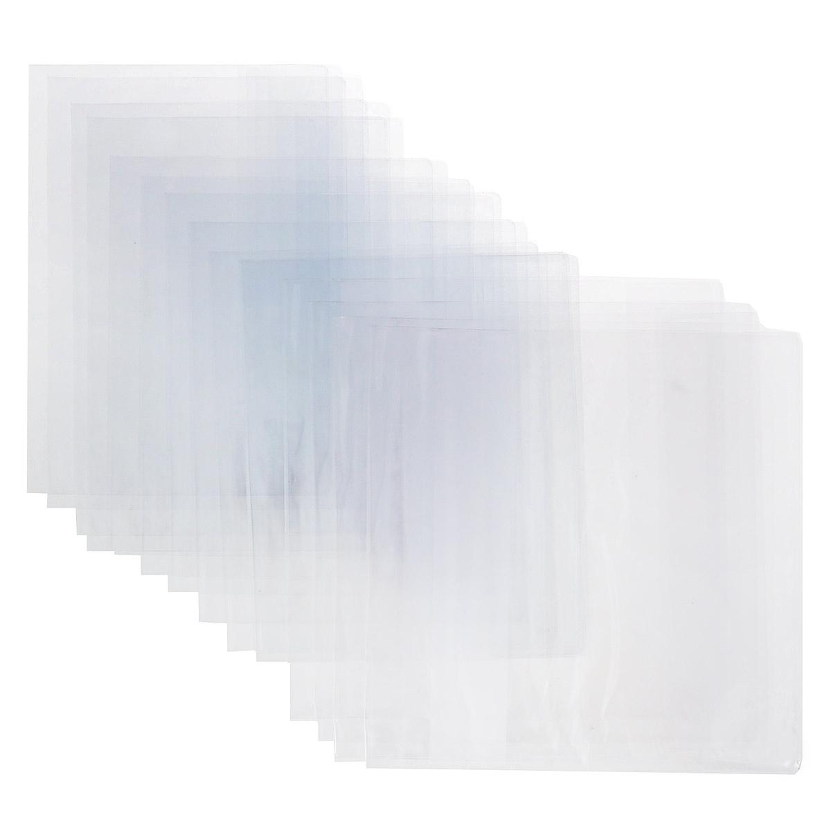 Набор обложек для старших классов Брупак, цвет: прозрачный, 15 штК10-02Прозрачные гладкие обложки, выполненные из ПВХ, защитят учебники и тетради от загрязнений на всем протяжении их использования.Комплект включает в себя пятнадцать обложек: четыре универсальные обложки для учебников размером 23 см х 46,5 см, четыре обложки для учебников старших классов размером 23 см х 33 см, семь обложек для тетрадей и дневников размером 21 см х 35,5 см.