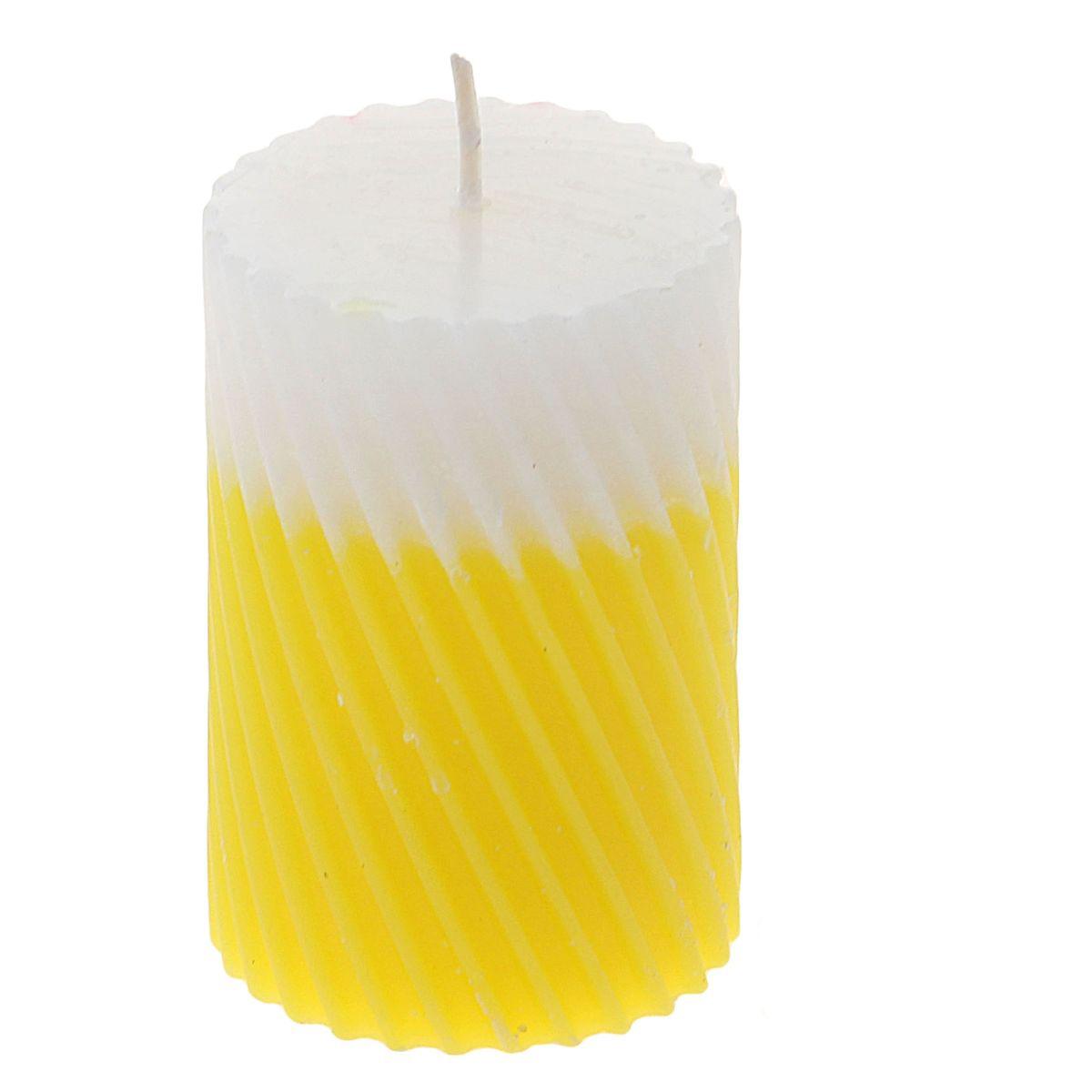 Свеча ароматизированная Sima-land Манго, высота 7,5 см. 849532849532Свеча Sima-land Манго выполнена из воска и оформлена резным рельефом. Свеча порадует ярким дизайном и сочным ароматом манго, который понравится как женщинам, так и мужчинам. Создайте для себя и своих близких незабываемую атмосферу праздника в доме. Ароматическая свеча Sima-land Манго раскрасит серые будни яркими красками.