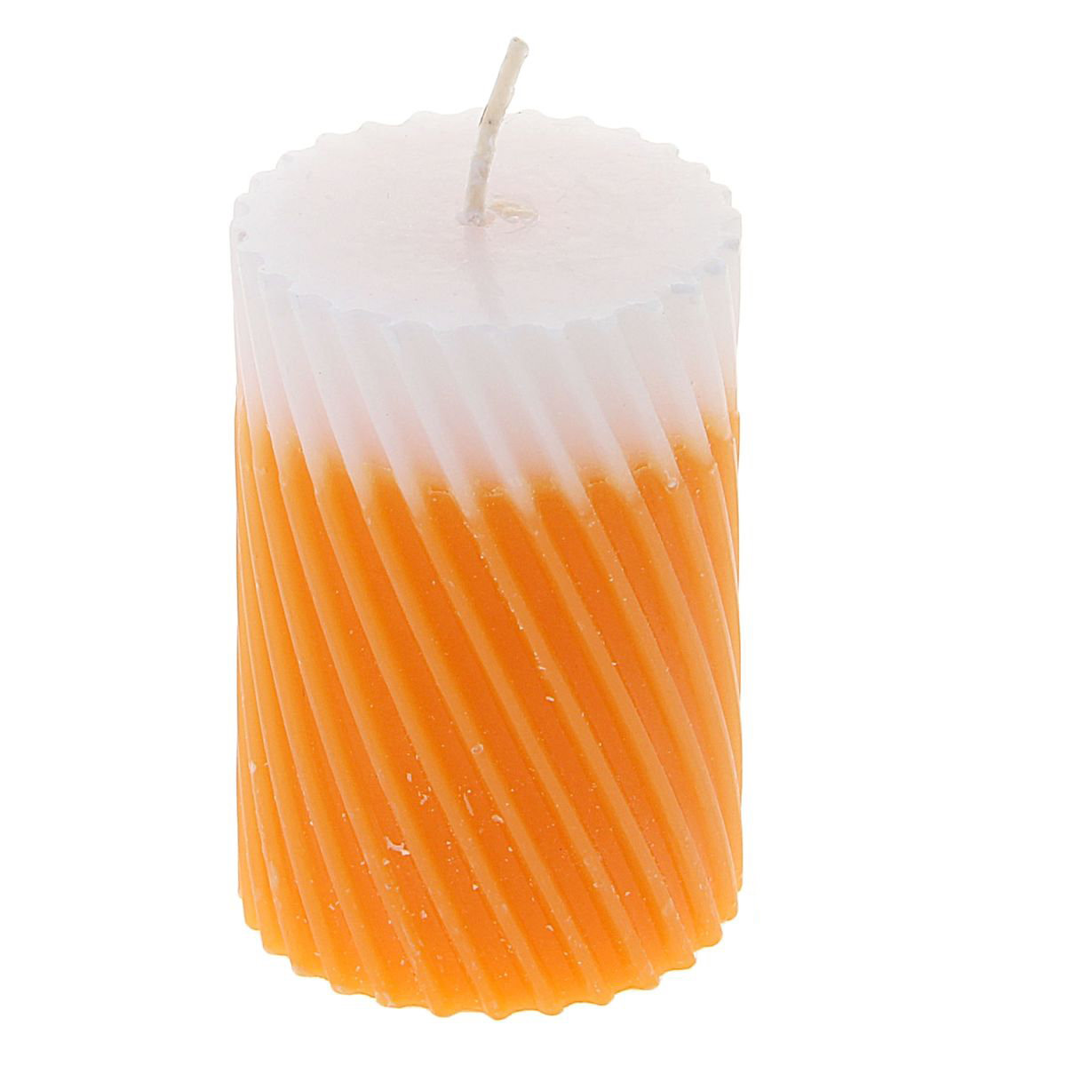 Свеча ароматизированная Sima-land Апельсин, высота 7,5 см. 849533 свеча ароматизированная sima land лимон на подставке высота 6 см